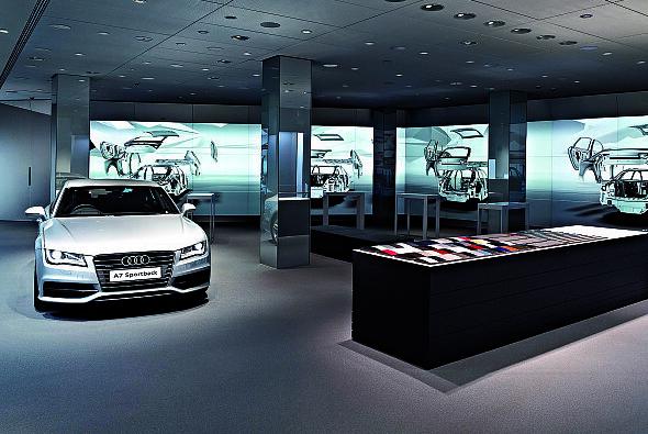Der neue Cyberstore - Foto: Audi