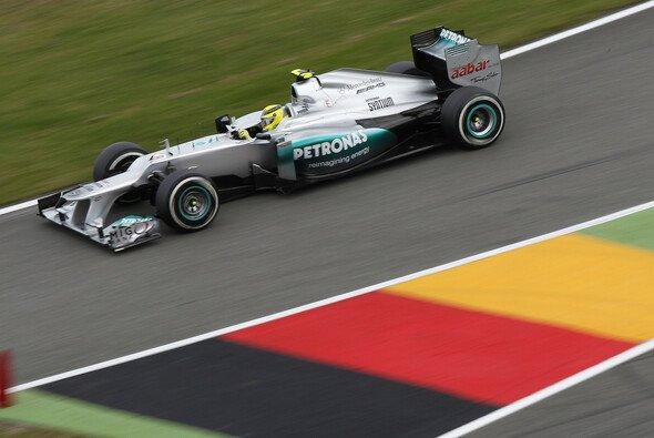 Vor heimischen Farben zu P10: Nico Rosberg lobte nach dem Rennen das DRS-Maß in Hockenheim