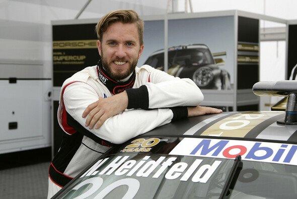 Zuletzt stattete Heidfeld der F1 in Hockenheim einen Besuch ab und fuhr im Rahmenprogramm - Foto: Porsche