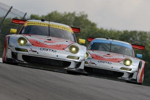 Porsche ist für Mid-Ohio gerüstet - Foto: ALMS