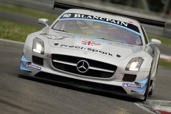 Für Bernd Schneider und Co geht es nach Belgien - Foto: Daimler AG