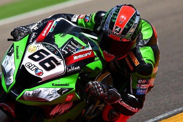 Obwohl sich Joan Lascorz schwer verletzte, kämpfte das ganze Kawasaki Racing Team weiter