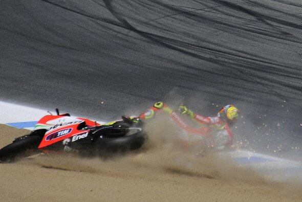 Die Ducati zog Valentino Rossi den letzten Nerv - Foto: Milagro