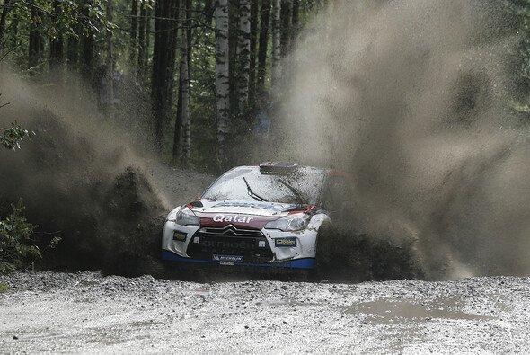 Nach der Rallye Finnland 2012 darf Chris Atkinson zum zweiten Mal in einem Citroen DS3 Platz nehmen