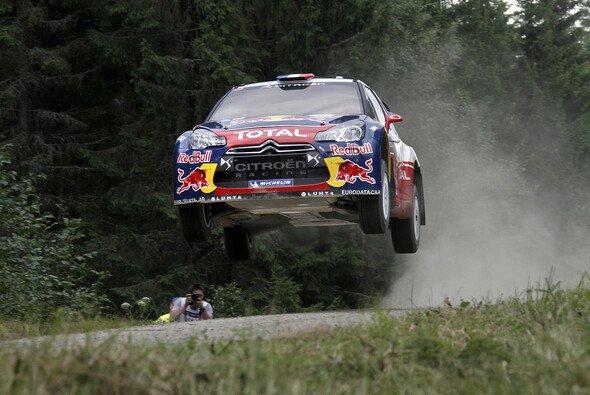 Sebastien Loeb ist auch in Finnland nicht zu stoppen
