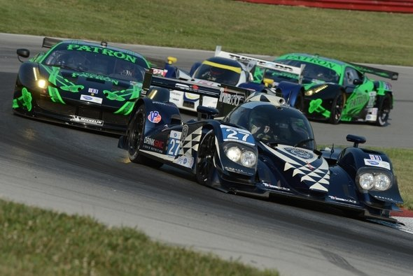 Dempsey in einem Lola-Prototyp bei der ALMS in Lexington