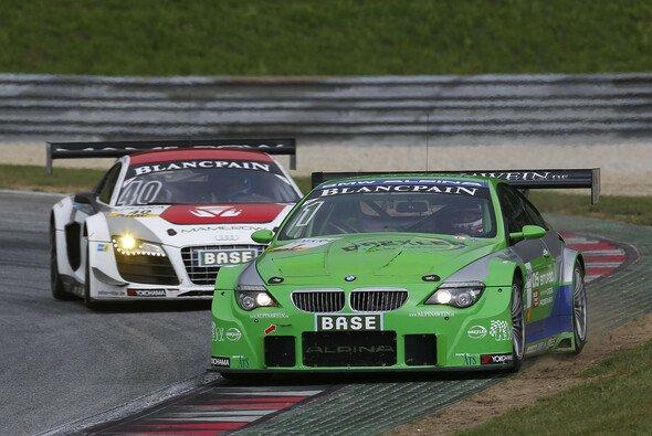 Dino Lunardi und Maxime Martin mussten sich auf dem Lausitzring mit den Rängen 23 und 19 zufrieden geben - Foto: ALPINA