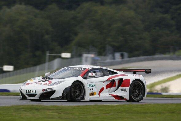 Die Fans dürfen sich 2014 wieder auf einen McLaren im GT Masters freuen