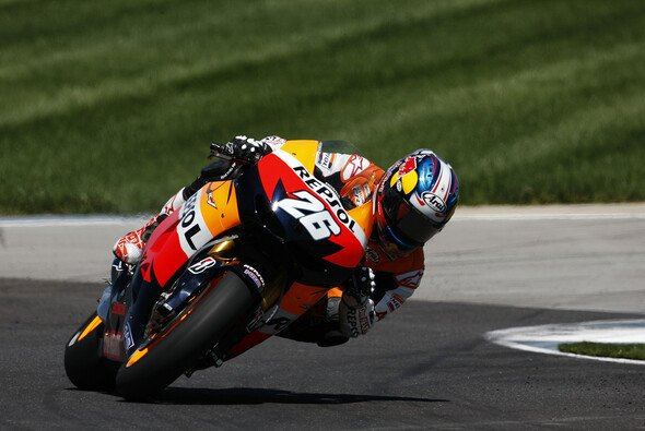 Dani Pedrosa hat in Indianapolis souverän gewonnen - Foto: Honda