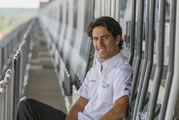 Lucas di Grassi nahm im DTM-Cockpit Platz