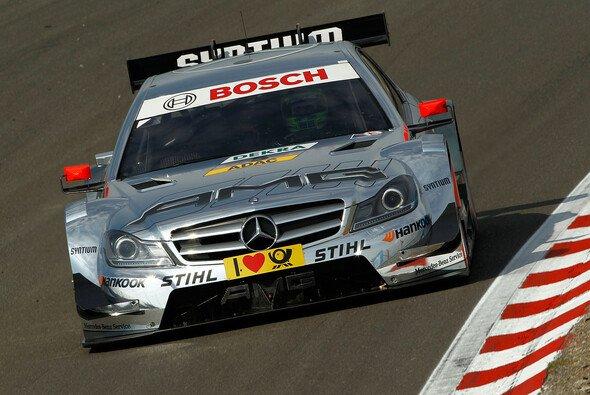 Jamie Green fuhr als bester Mercedes-Pilot nur auf Rang sechs