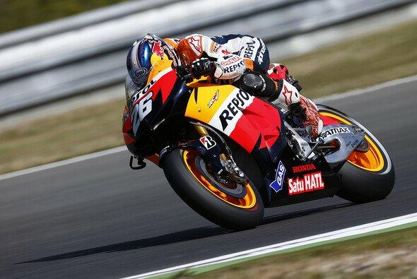Dani Pedrosa ließ die Konkurrenz alt aussehen - Foto: Honda