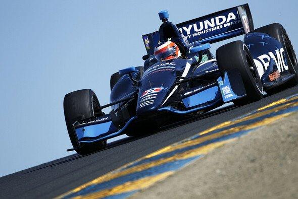Barrichello debütierte 2012 in der IndyCar-Serie