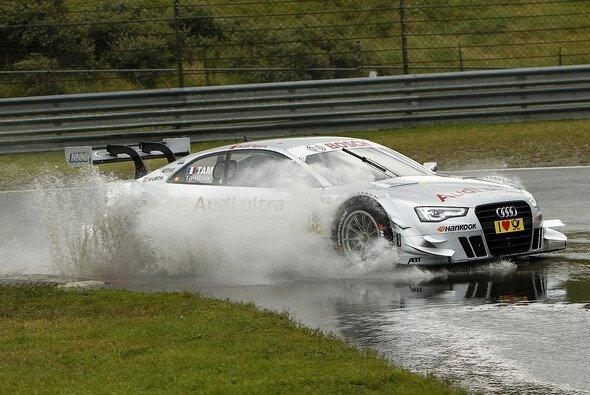 Adrien Tambay kam auch im Regen gut zurecht - Foto: DTM