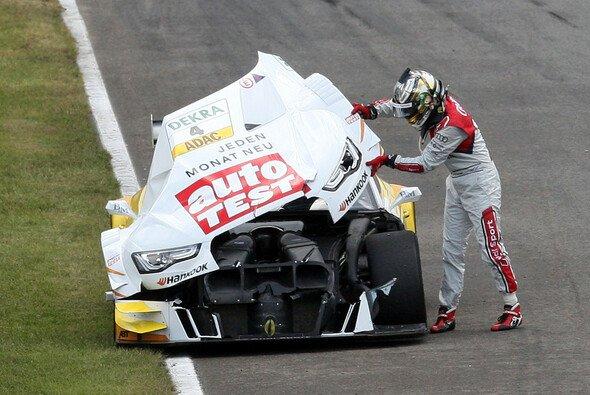 Timo Scheider und der Audi A5 DTM - 2012 wurden sie keine Freunde - Foto: RACE-PRESS