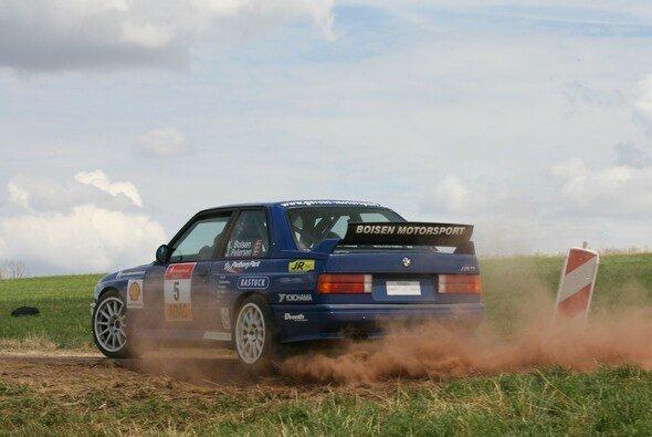 Tabellenleader Kim Boisen - Foto: ADAC Rallye Masters