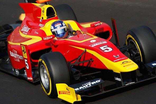 Fabio Leimer schloss die GP2-Saison 2012 als Siebter ab