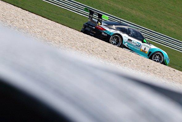 Mario Farnbacher fuhr bei seinem Debüt im ADAC GT Masters auf Rang zwei