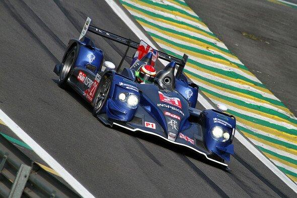 Testet bereits für die Saison 2013: Strakka Racing