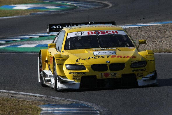 Starker vierter Platz in Oschersleben: Dirk Werner - Foto: BMW AG
