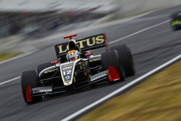 Marco Sörensen ist 2014 bei Lotus im Fahrerlager anzutreffen