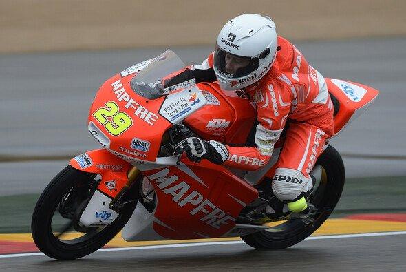 Luca Amato brachte das Motorrad heil ins Ziel