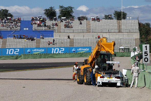 Tomczyk hing schnell am Haken - Foto: RACE-PRESS