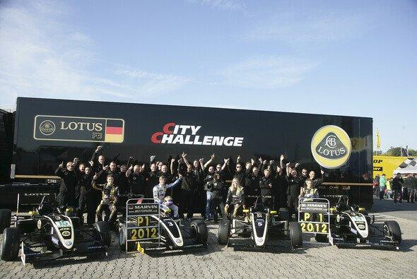 Erfolgreiches 2012: Motopark-Lotus gewinnt mit Jimmy Eriksson den F3 Cup und mit Marvin Kirchhöfer das ADAC Formel Masters