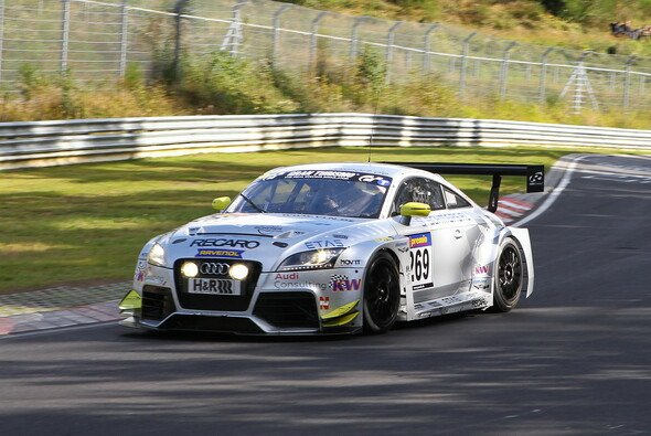 Für den Audi TT RS lief beim ROWE 250 Meilen Rennen fast alles nach Plan