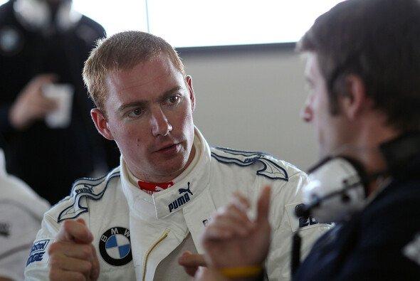 Martin unterhielt sich nach dem Test mit den Ingenieuren