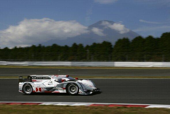 Die Audi Piloten kämpfen markenintern um den Titel in der WEC