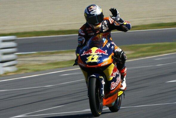 Sandro Cortese will ungeachtet aller Geschehnisse am Sonntag den Sack zumachen - Foto: KTM
