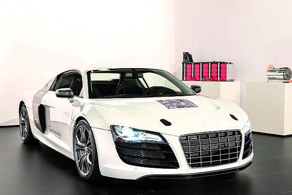 Das Projekt entwickelte den Audi F12, eine Elektroversion des Audi R8 - Foto: Audi