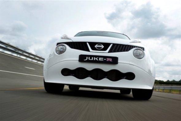 Heute rollt der erste für die Straße zugelassene Serien-Juke-R vom Band