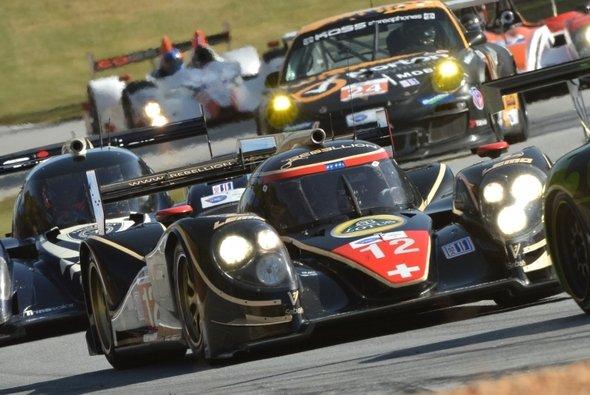 Flott auch in der Frühe: Rebellion Racing