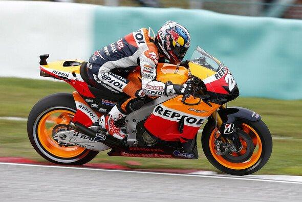 Dani Pedrosa holte sich im Warm-Up wieder die Spitzenposition - Foto: Honda