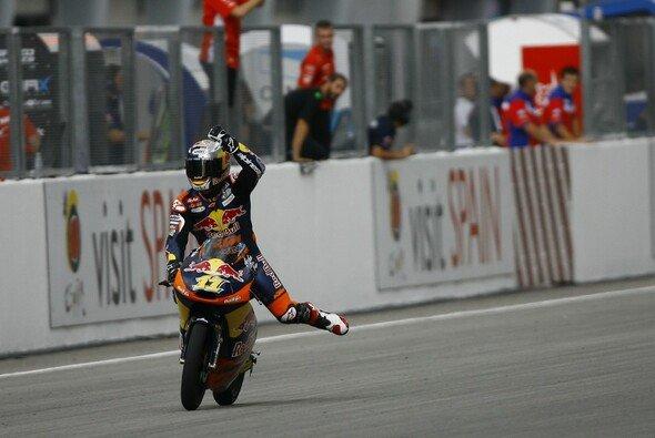 Sandro Cortese ließ KTM jubeln