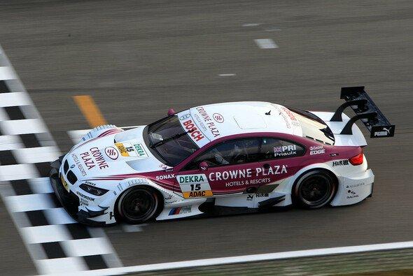 Andy Priaulx hat seine erste DTM-Saison hinter sich