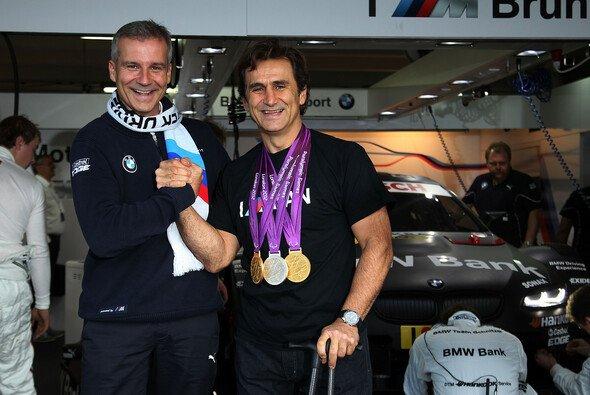 Alex Zanardi startet bei der DTM in Misano für BMW - Foto: BMW AG