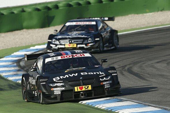 DTM 2012: Bruno Spengler und Gary Paffett sorgten auf dem Hockenheimring für ein packendes Finale