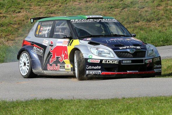 Hayden Paddon tritt bei der Rallye Spanien im Red Bull Design an