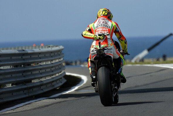Valentino Rossi ortete noch Verbesserungspotential
