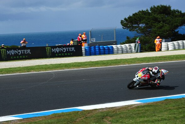 In Australien kam Rossi auf Rang 20 ins Ziel