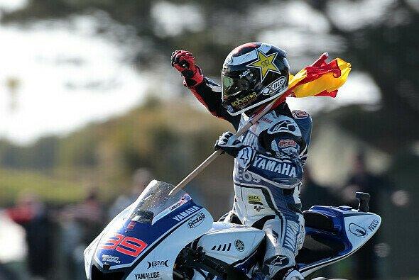 Jorge Lorenzo könnte einen MotoGP-Titel zum ersten Mal verteidigen, muss aber Acht geben
