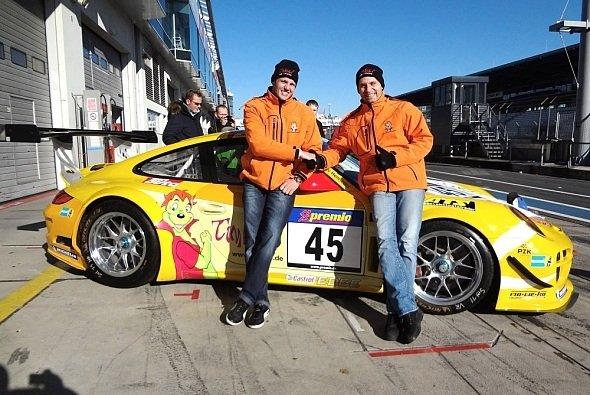 Der Timbuli-Porsche 911 GT3 R konnte am vergangenen Wochenende nicht ausgefahren werden