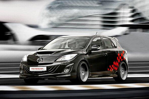 MR Car Design verschafft dem Mazda 3 MPS nicht nur einen neuen Anstrich, der Tuner legt auch am Motor Hand an
