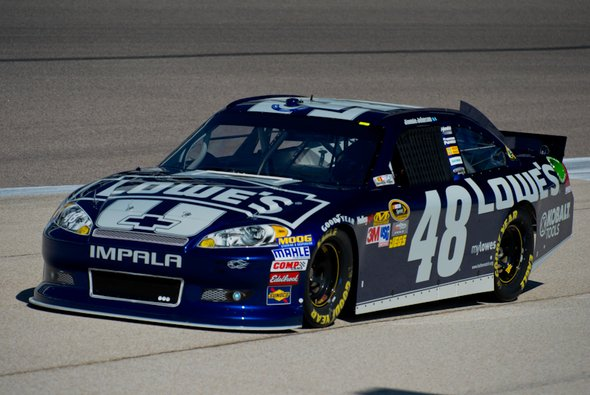 Pole Nummer 29 für Jimmie Johnson