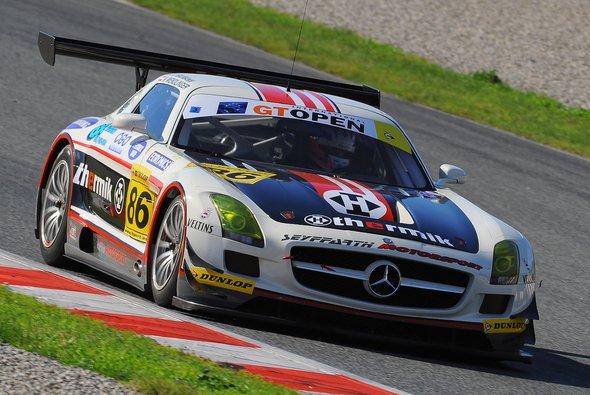 Geglücktes GT-Open-Debüt: der SLS-Mercedes von Seyffarth Motorsport