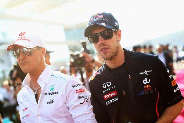 Cool sind beide, doch Vettel & Schumacher unterscheidet auch vieles - Foto: Red Bull
