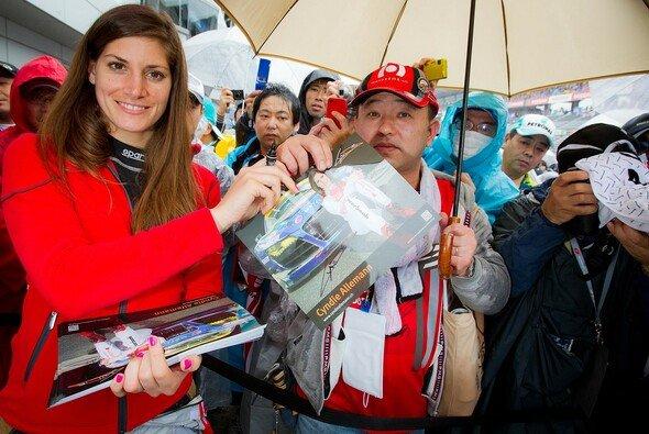 Cynie Allemann hat in Asien viele Fans